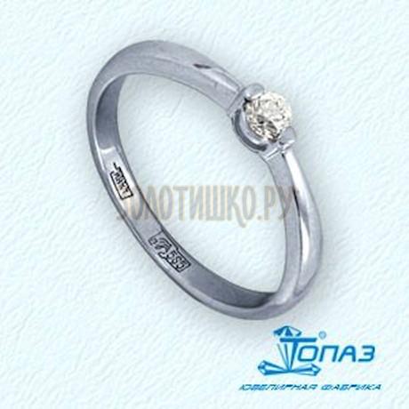 Кольцо с бриллиантом Т301011665