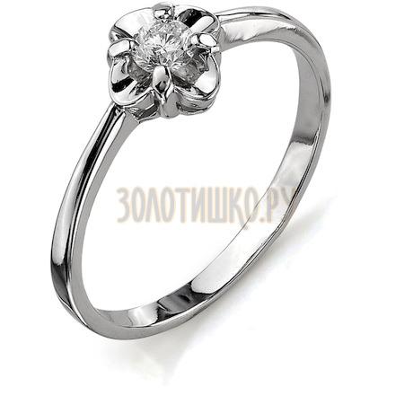 Кольцо с бриллиантом Т301011669