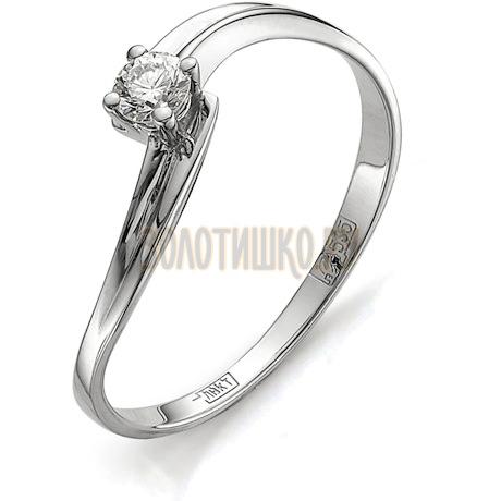 Кольцо с бриллиантом Т301011673