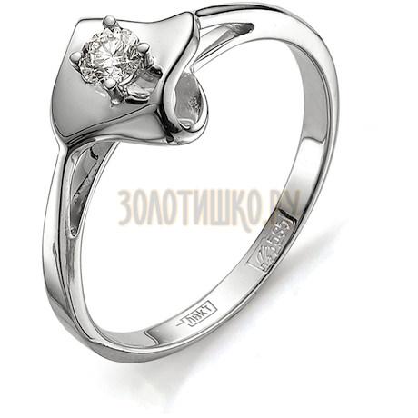 Кольцо с бриллиантом Т301011679