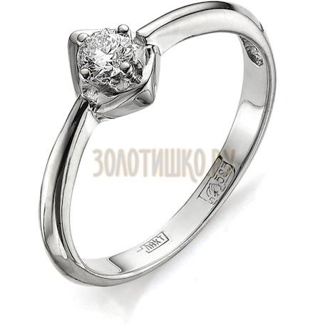 Кольцо с бриллиантом Т301011681