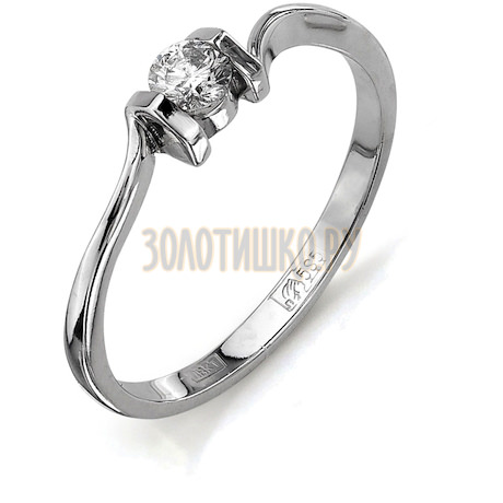 Кольцо с бриллиантом Т301011685