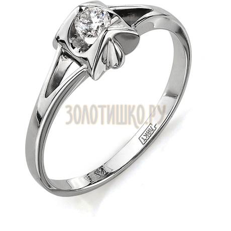 Кольцо с бриллиантом Т301011704