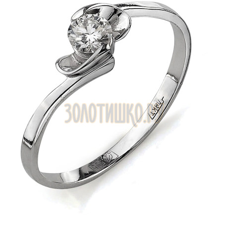 Кольцо с бриллиантом Т301011718