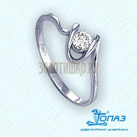 Кольцо с бриллиантом Т301011726