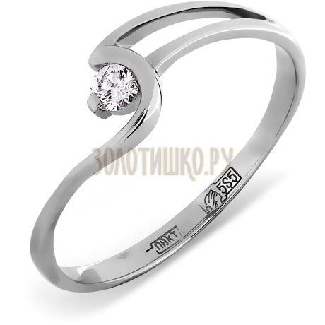 Кольцо с бриллиантом Т301011812
