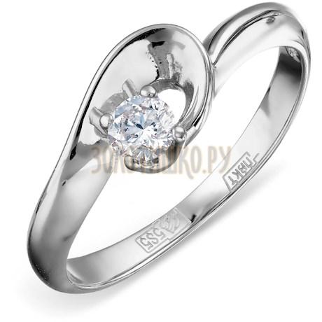 Кольцо с бриллиантом Т301011816