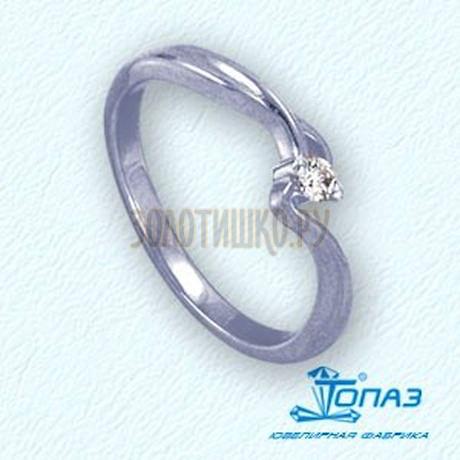 Кольцо с бриллиантом Т301011824