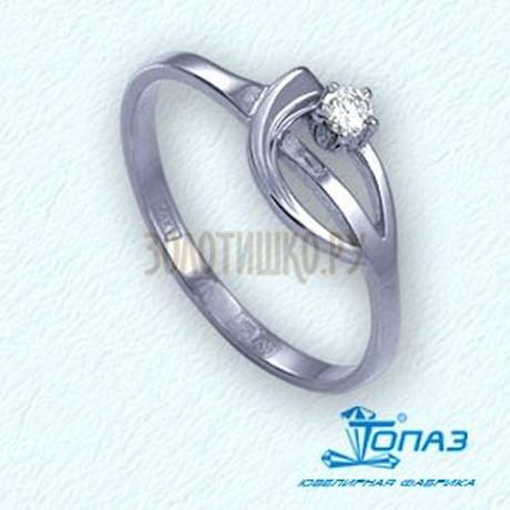 Кольцо с бриллиантом Т301011825