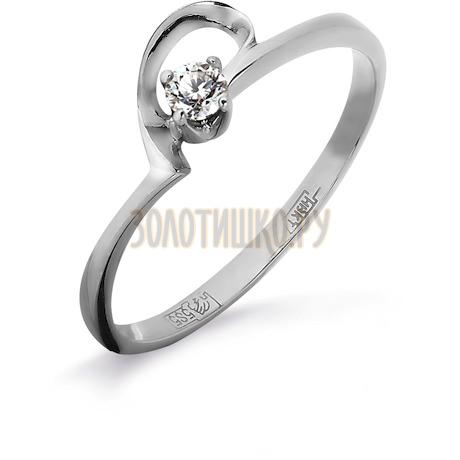 Кольцо с бриллиантом Т301011827
