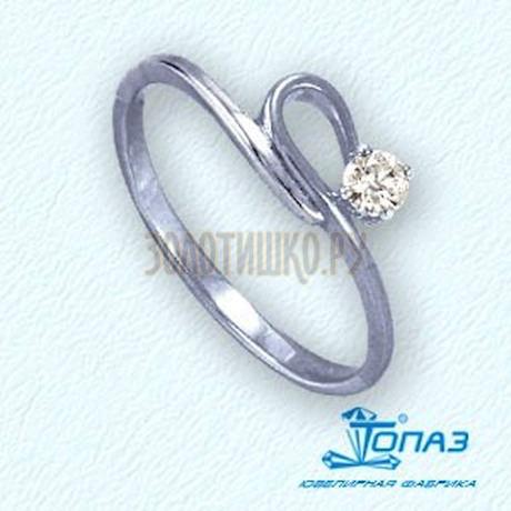 Кольцо с бриллиантом Т301011828