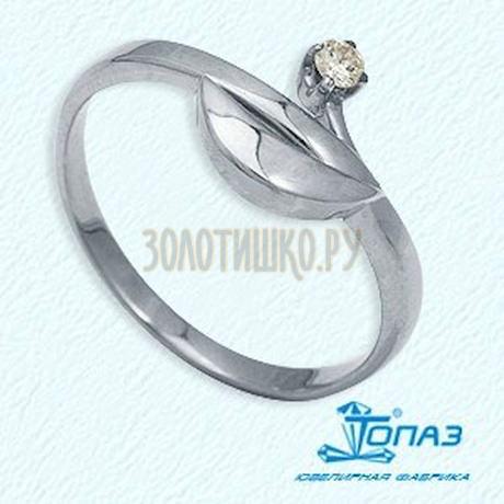 Кольцо с бриллиантом Т301011842