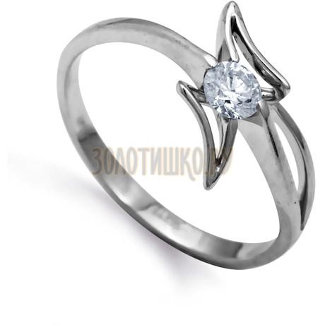 Кольцо с бриллиантом Т301011960