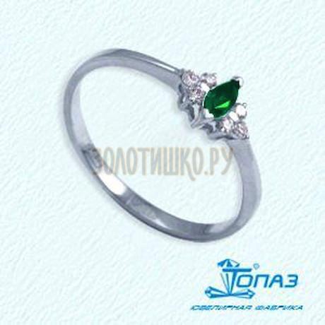 Кольцо с изумрудом и бриллиантами Т301011963