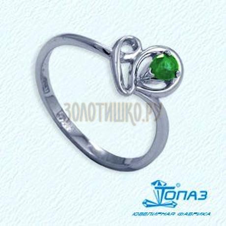 Кольцо с изумрудом Т301012040