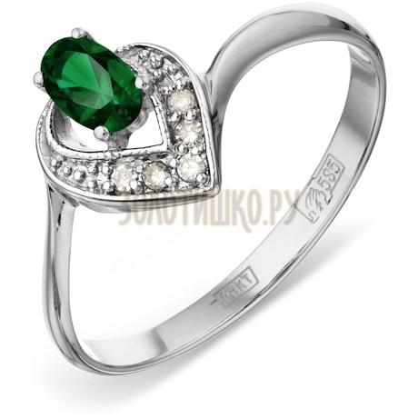 Кольцо с изумрудом и бриллиантами Т301012061_2