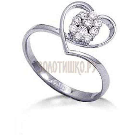 Кольцо с бриллиантами Т301012257