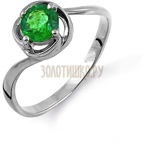 Кольцо с изумрудом Т301014105
