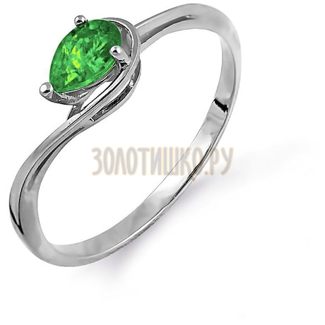 Кольцо с изумрудом Т301014109_3