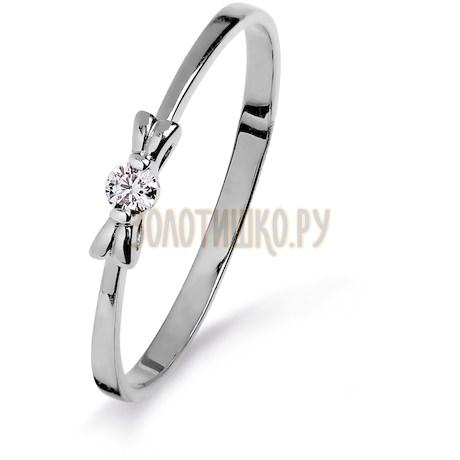 Кольцо с бриллиантом Т301015313