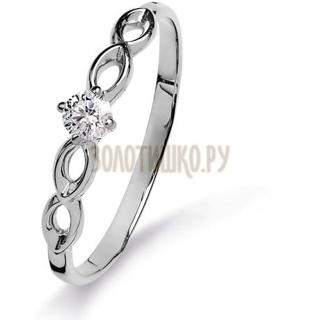 Кольцо с бриллиантом Т301015315