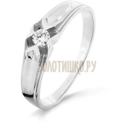 Кольцо с бриллиантом Т301016337