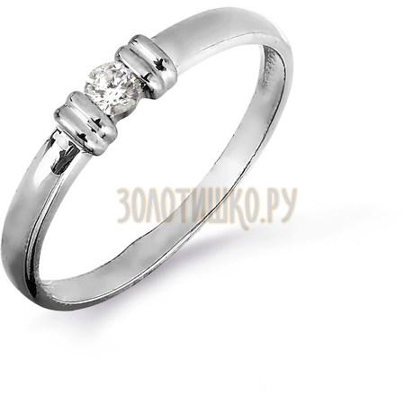 Кольцо с бриллиантом Т301016455
