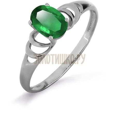 Кольцо с изумрудом Т301017014_3