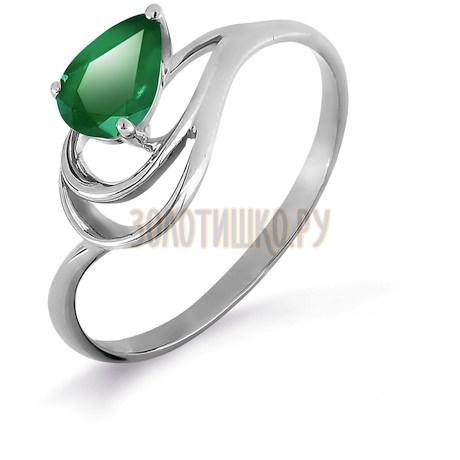 Кольцо с изумрудом Т301017016_3