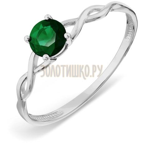 Кольцо с изумрудом Т301017774_2