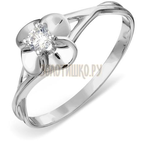 Кольцо с бриллиантом Т301017827