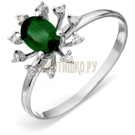 Кольцо с изумрудом и бриллиантами Т301018062_2