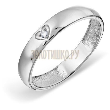 Кольцо с бриллиантом Т301018089