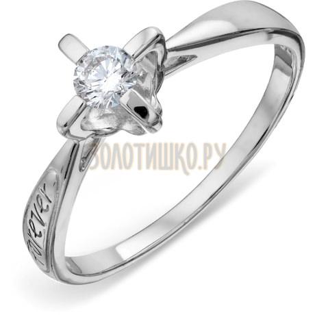 Кольцо с бриллиантом Т301018116