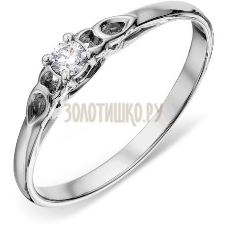 Кольцо с бриллиантом Т301018185