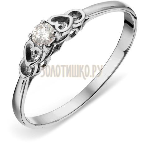 Кольцо с бриллиантом Т301018187