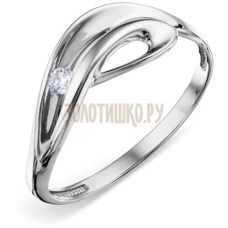 Кольцо с бриллиантом Т301018374