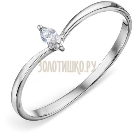 Кольцо с бриллиантом Т301018393