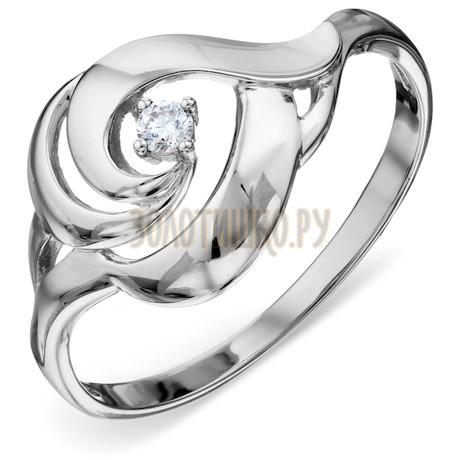 Кольцо с бриллиантом Т301018488
