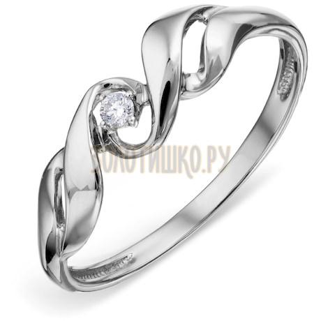 Кольцо с бриллиантом Т301018489