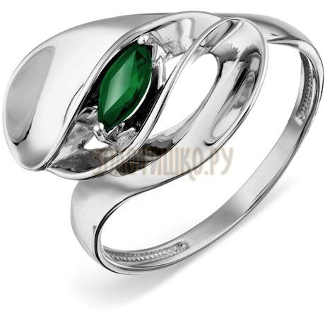 Кольцо с изумрудом Т301018721_3