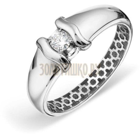 Кольцо с бриллиантом Т301018843