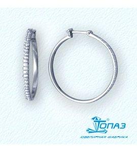 Серьги с бриллиантами Т301021060
