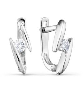 Серьги с бриллиантами Т301021700