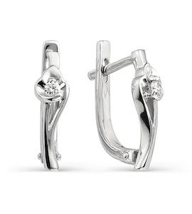 Серьги с бриллиантами Т301021704