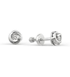 Серьги с бриллиантами Т301021706