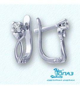 Серьги с бриллиантами Т301021724