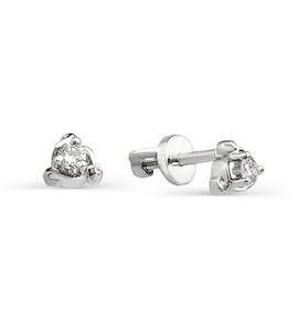 Серьги с бриллиантами Т301021729