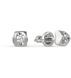 Серьги с бриллиантами Т301021732
