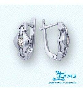 Серьги с бриллиантами Т301021760